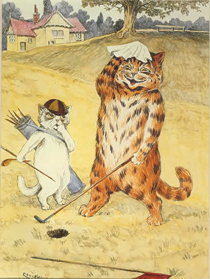 Anthropomorphized Cats
