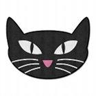 Retro Black Cat Bath Mat