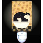 Bath Tub Cat Night Light