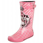 Hello Kitty Crest Rain Boots