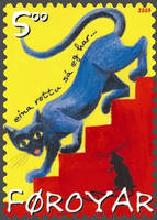 Cat Stamp