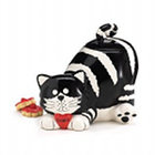 Chester the Cat Cookie Jar