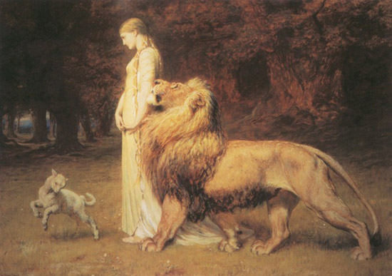 Una & Lion