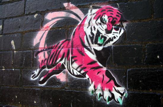 Tiger Graffiti